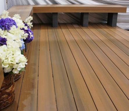 Proshield decking - capped composite decking