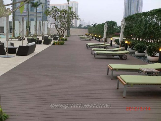 Protechwood composite decking in macau