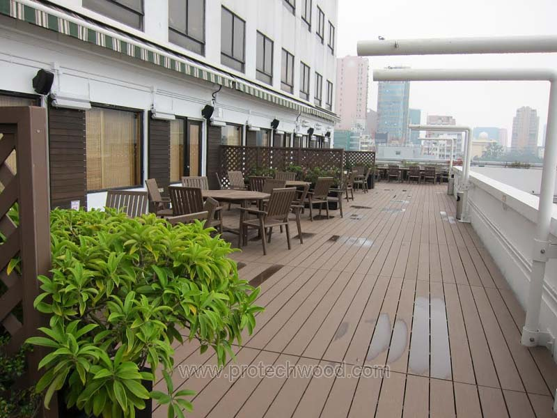 Protechwood wpc decking project in HongKong