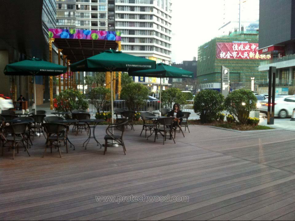 Protechwood wpc decking project