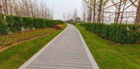 WPC walkway in ningbo