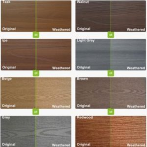 color-all Best composite decking,The Industrial Leading